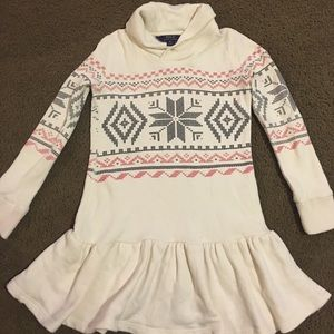Girls sweater dress